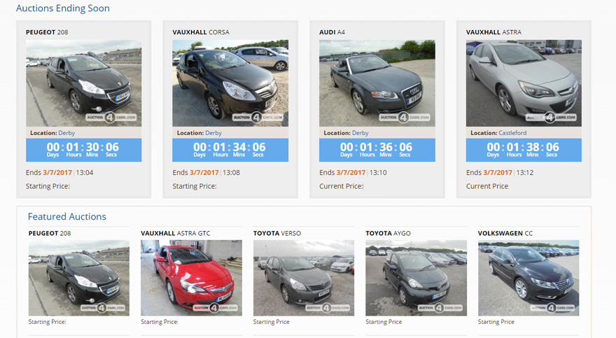 Car Auctions Online >> Auction4cars Motorpoint Px Online Car Auction For Trade
